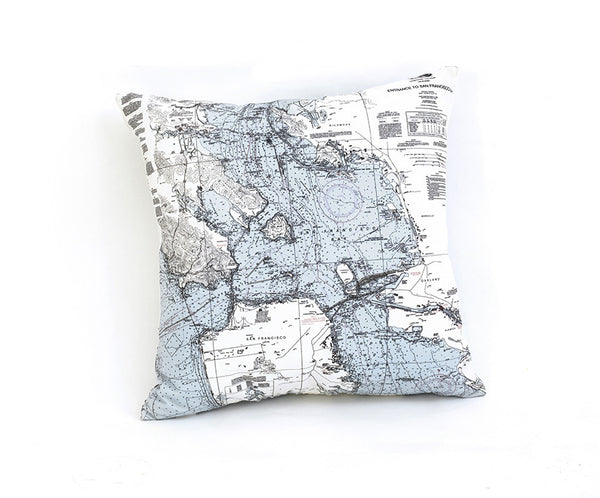 San Francisco Bay Indoor/Outdoor Pillow