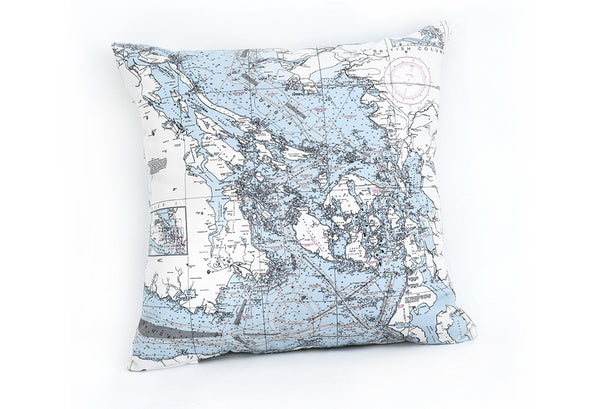 San Juan Islands Indoor/Outdoor Pillow