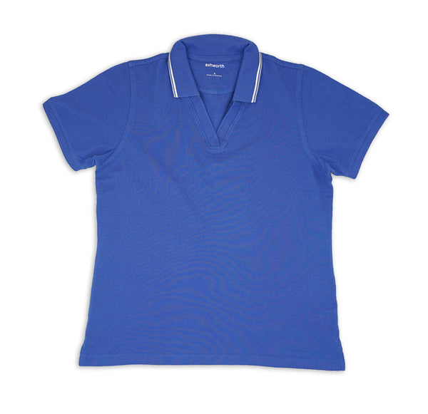 Womens V-notch Polo