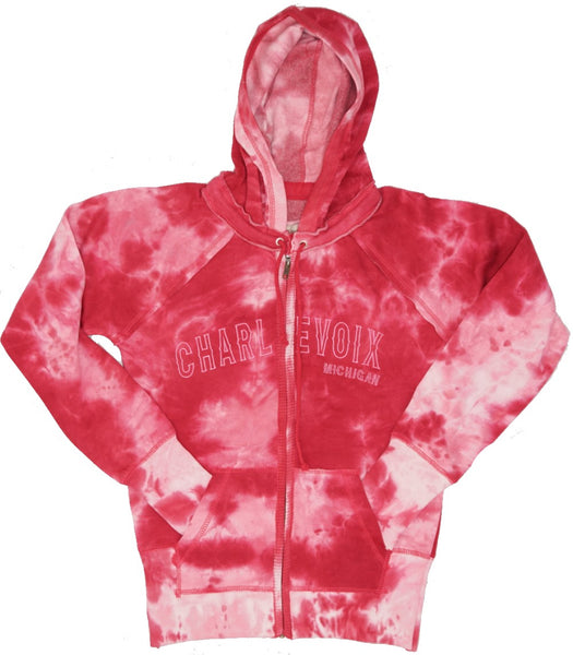Junior Fitted Hoody- Charlevoix- 3 COLORS