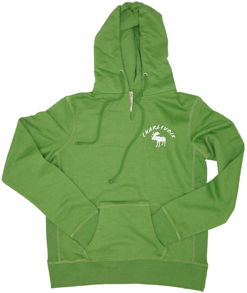 Junior hoody- Charlevoix moose- 3 COLORS