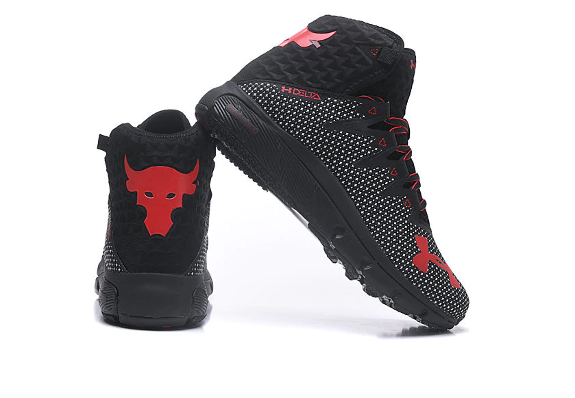 Project Rock Delta Black/Red – Shoes