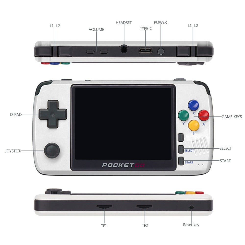 New PocketGo Retro Console