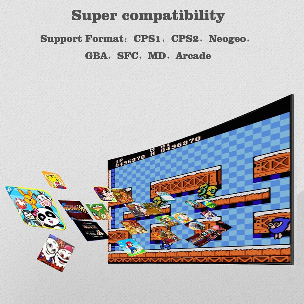 64 Bit Retro Game Classic HD TV Video Games Console