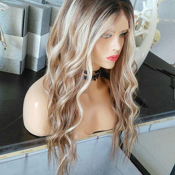 Blonde Fashion Wig