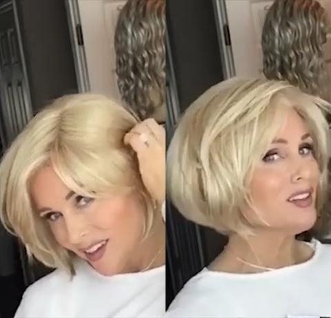 Fresh Light Gold Bob Wig