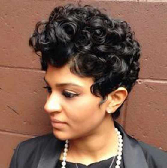 Gorgeous Short Curly Wig