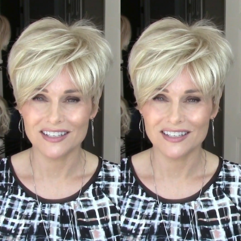 Sweet Honey Linen Gold Short Wig