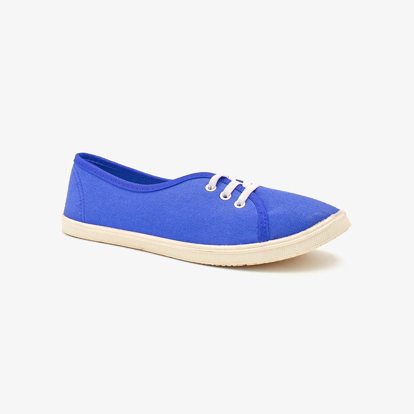 Plain Ladies Sneakers