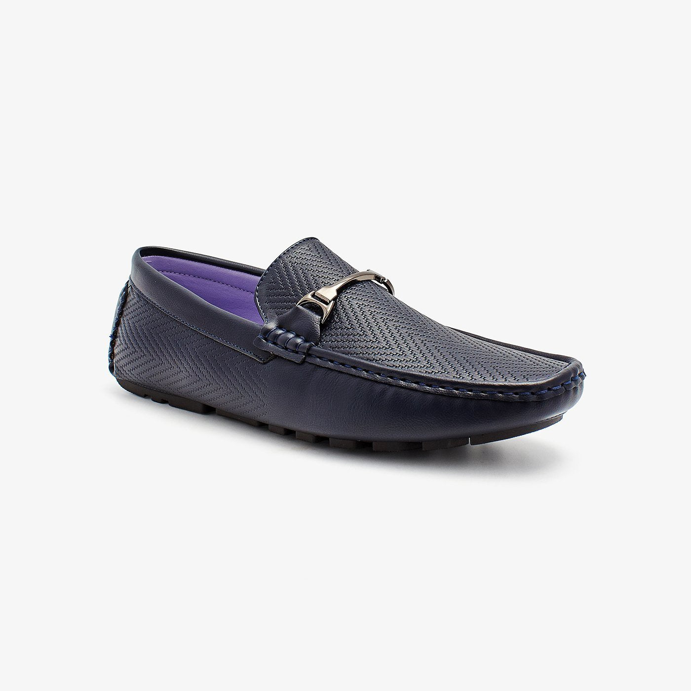 Textured Mens Loafers