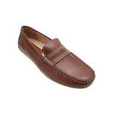 Textured Mens  Moc Loafers
