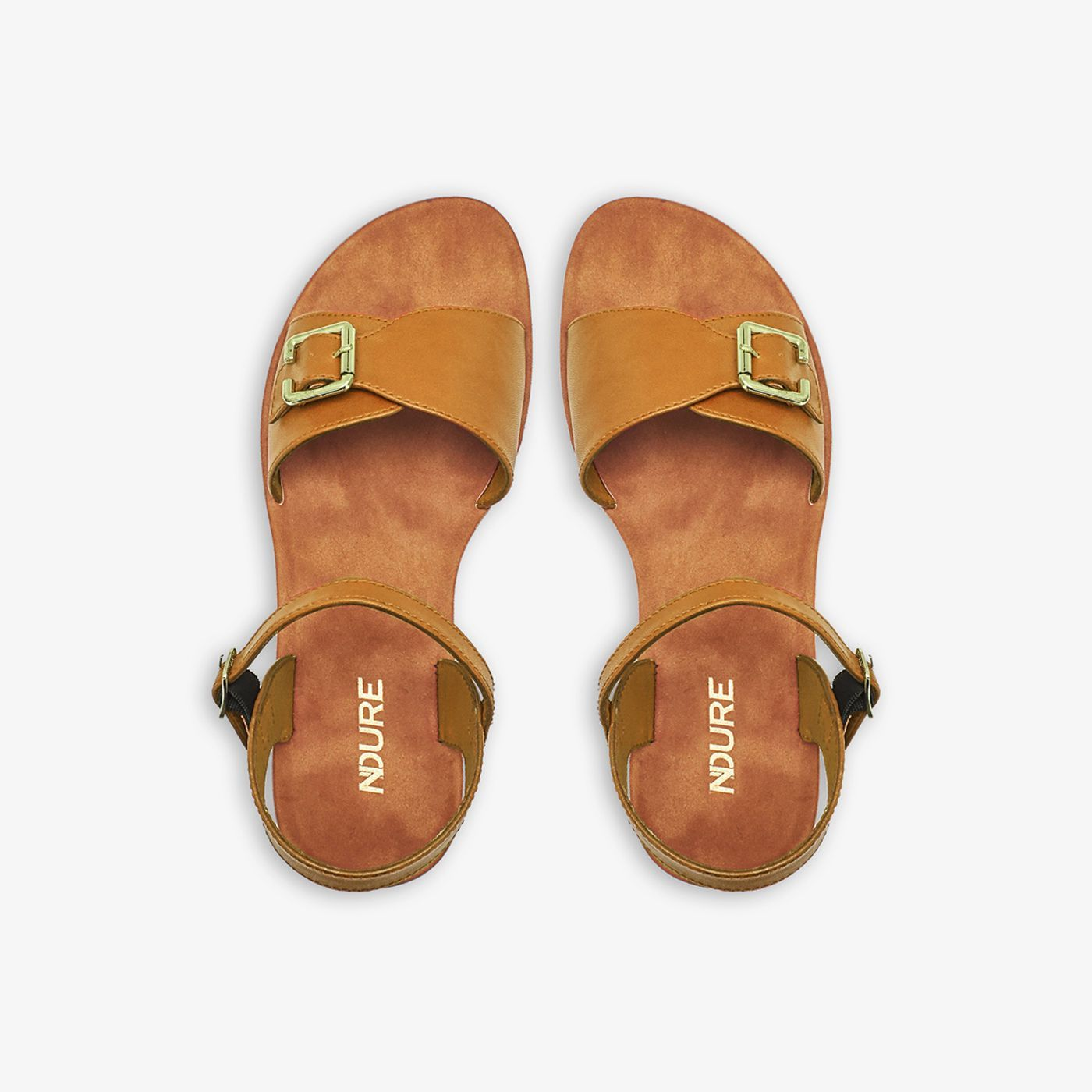 Buckled Ladies Sandals