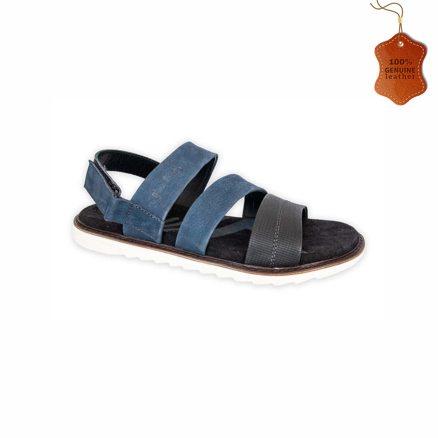 Comfy Mens Leather Sandals