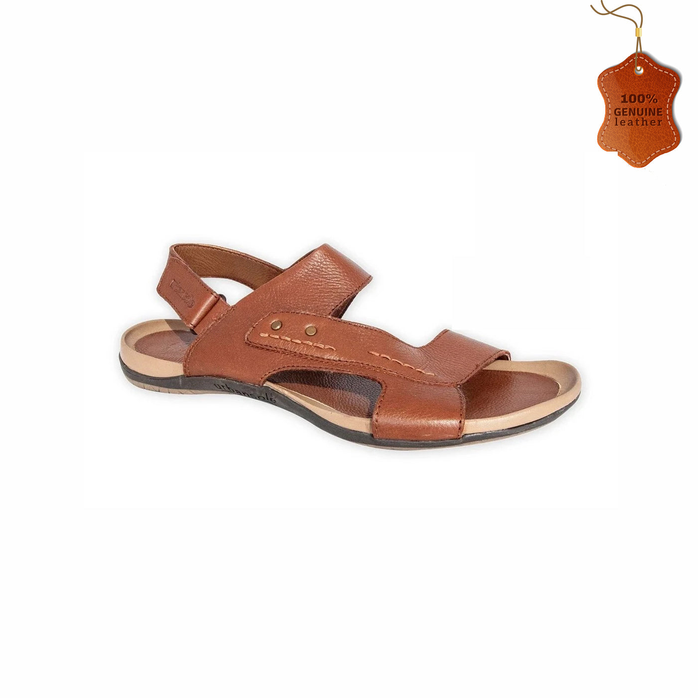 Strappy Leather Sandals for Men