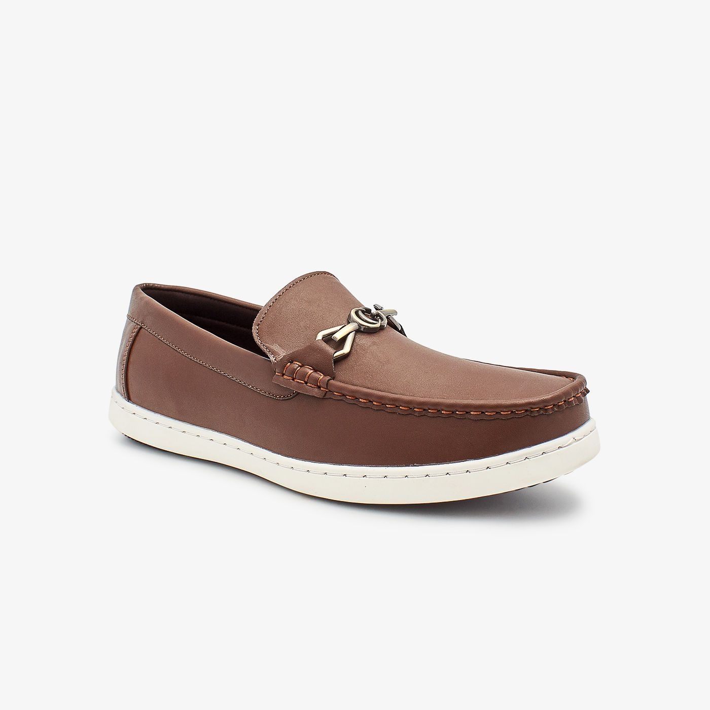 Mens Buckled Loafers