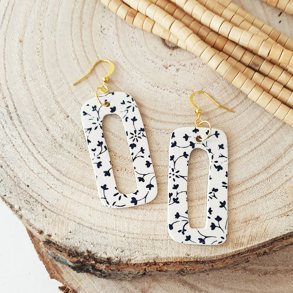 Ceramic earings