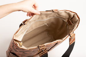 CALLA bag, bronze