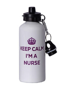 Keep Calm Water Bottle - Scrubs Galore and More