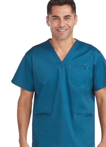 Men's 3 Pocket Top - Scrubs Galore and More