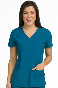 V Neck RacerBack Top - Scrubs Galore and More