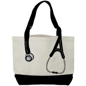 Canvas Stethoscope bag - Scrubs Galore and More
