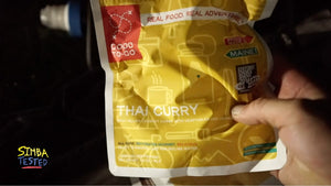 Simba Tested - GOOD TO GO Meals: Thai Curry vs Vegetable Korma