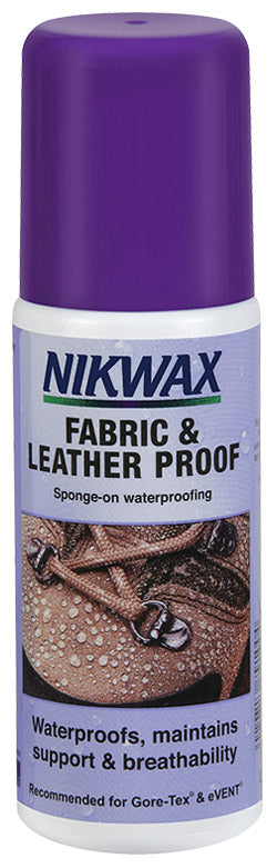 Nikwax - Fabric & Leather Proof 125ml