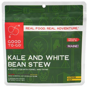 Good To Go Meals: Kale & White Bean Stew