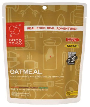 Good To Go: Oatmeal - 1 Serving