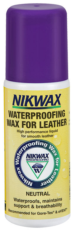 Nikwax - Waterproofing Wax for Leather - Liquid - Neutral 125ml
