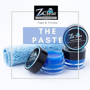 Z Clear - Lens Cleaner & Anti-Fog Paste