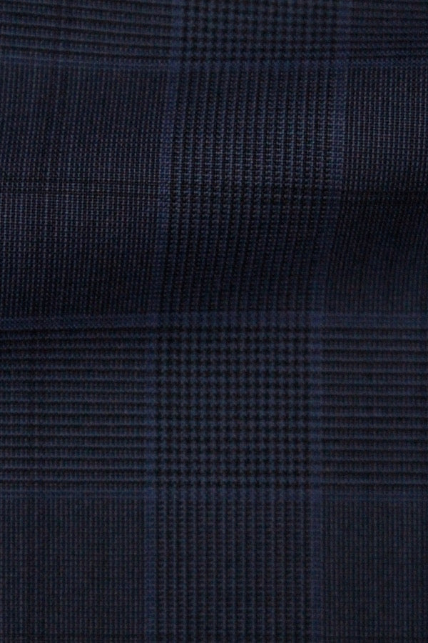 VITALE BARBERIS BLUE GLEN PLAID SUIT
