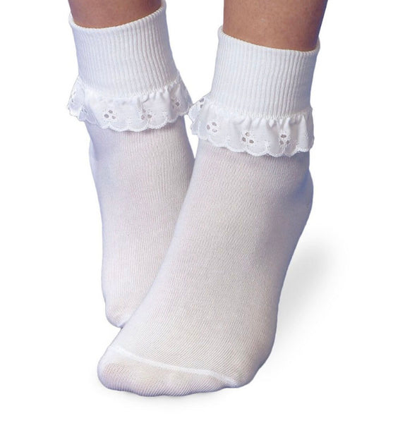 Jefferies Socks Eyelet Lace Socks (1 pair)