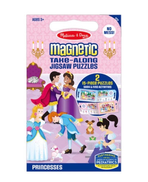 Melissa and Doug magnetic take along puzzles