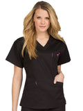8403 V-NECK SIGNATURE 3 POCKET TOP