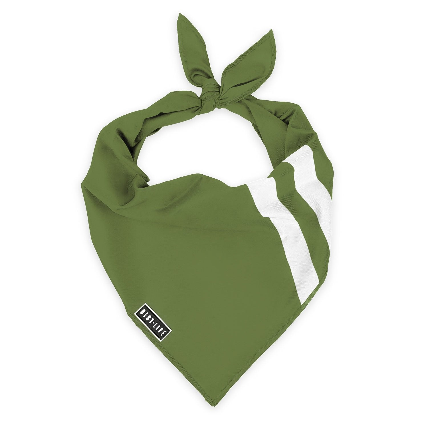 Awesome Olive - Bandana bandana Best Life Leashes | The Leash For Rescue Dogs