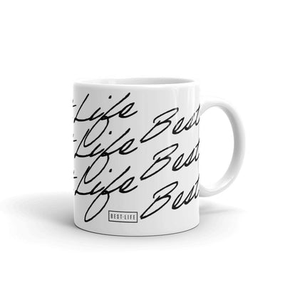 Best Life Cursive Mug Best Life Leashes | Functional Dog Leashes With A Mission 11oz