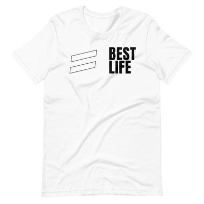 Blanco Stripes - Short-Sleeve Unisex T-Shirt shirts Best Life Leashes | The Leash For Rescue Dogs S