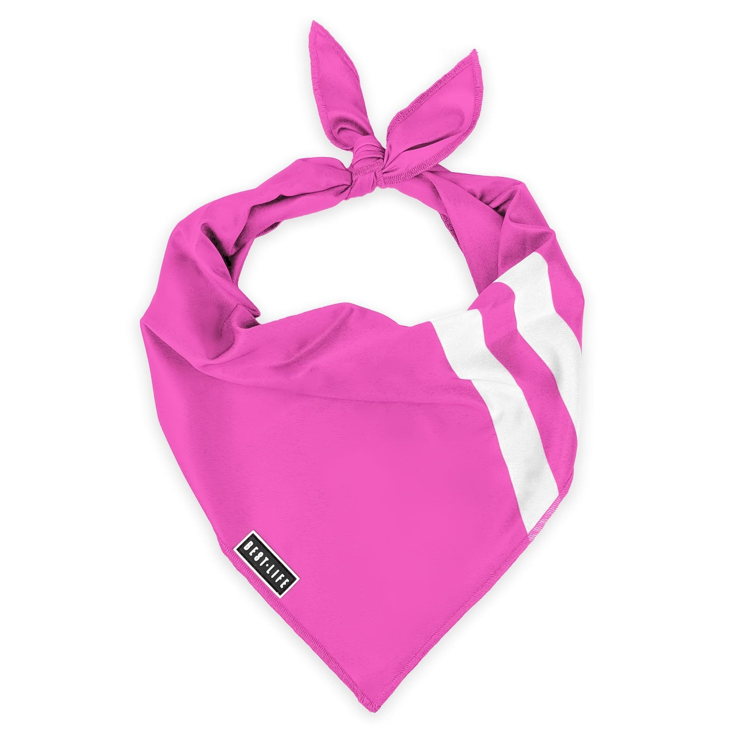 Perfect Pink - Bandana bandana Best Life Leashes | The Leash For Rescue Dogs