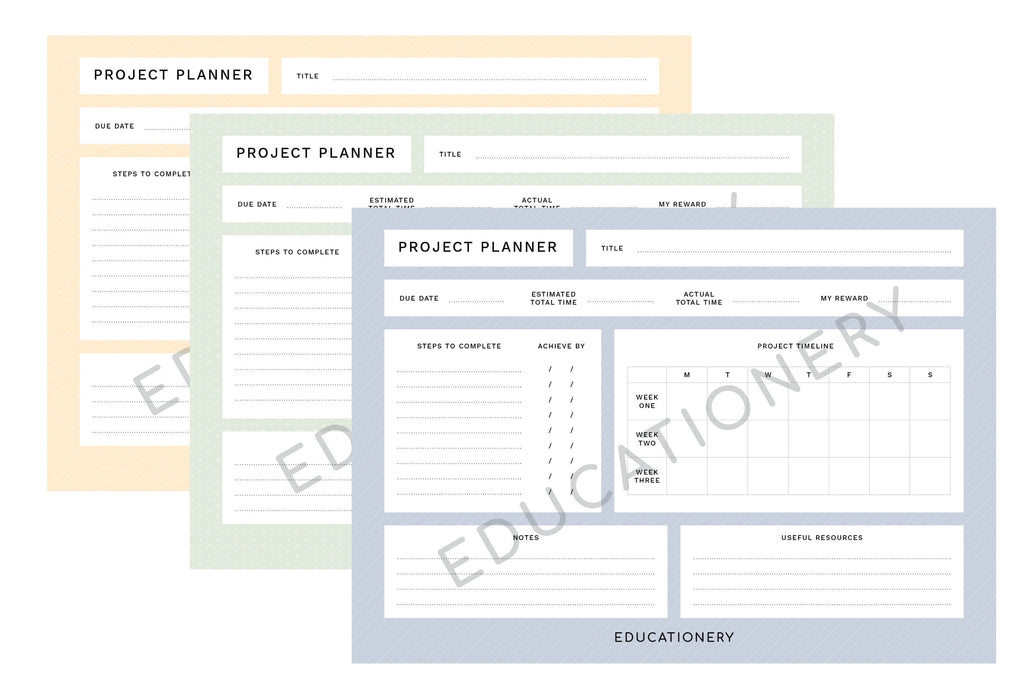 Project Planner (Digital)
