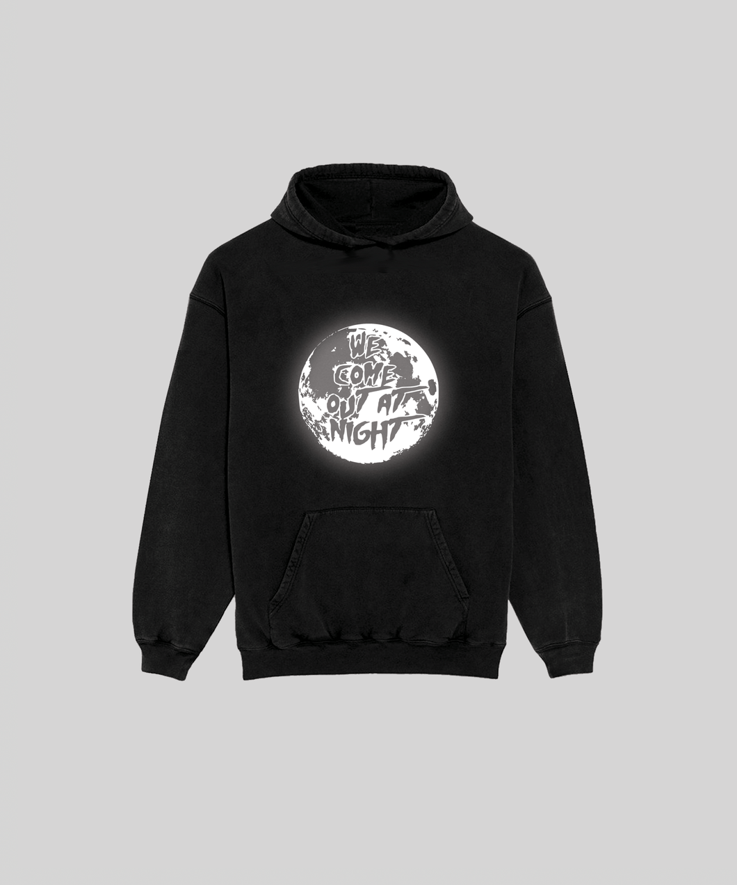 WE COME OUT REFLECTIVE HOODIE