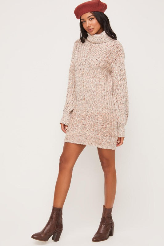 Northern Lights Sweater Dress