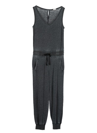 Gia Pocketed Cotton Jumpsuit