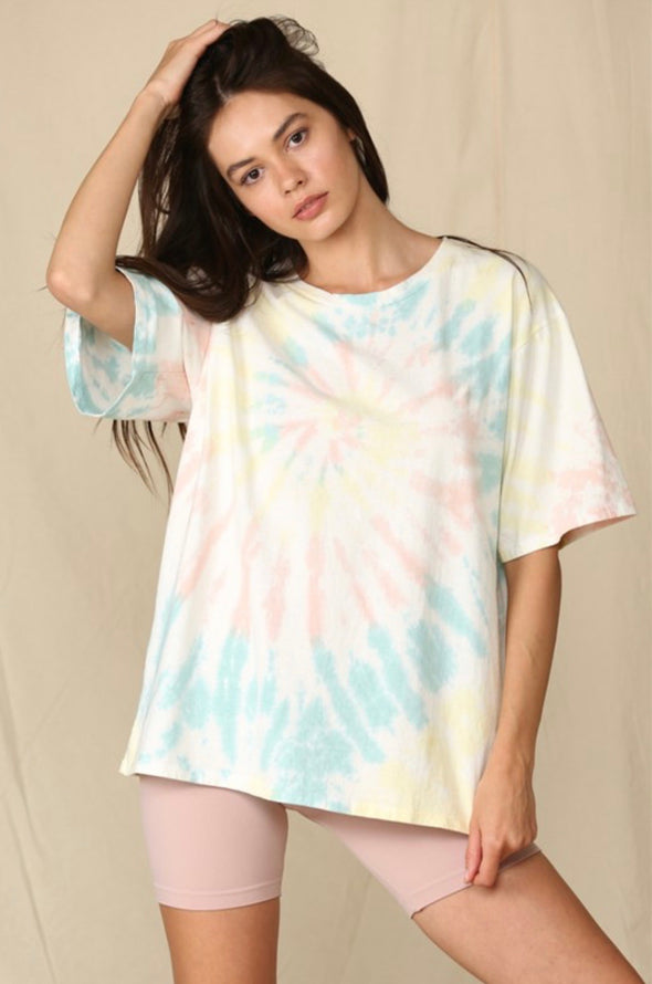 Skylight Cotton Tie Dye Tee