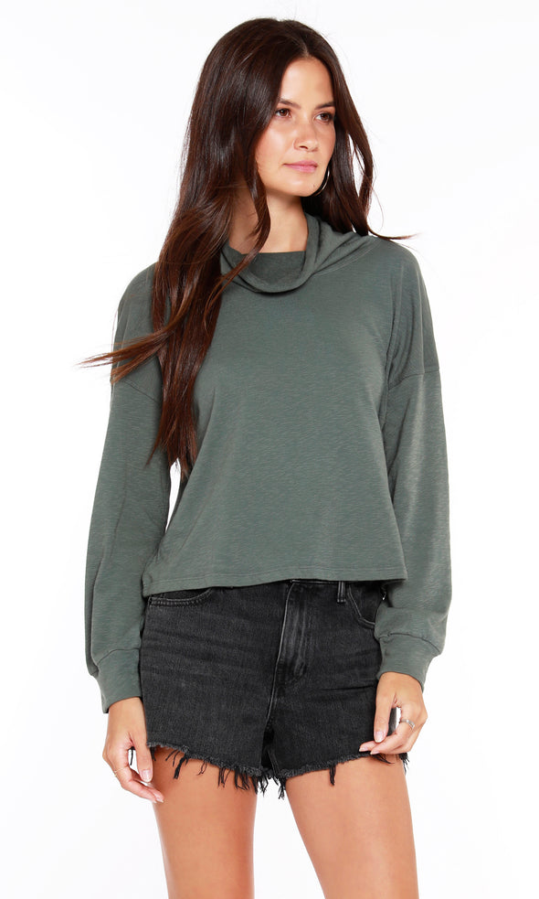 Evergreen Bobi Dark Sage Top