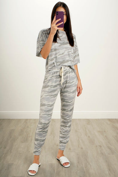 Camo City Loungewear Set