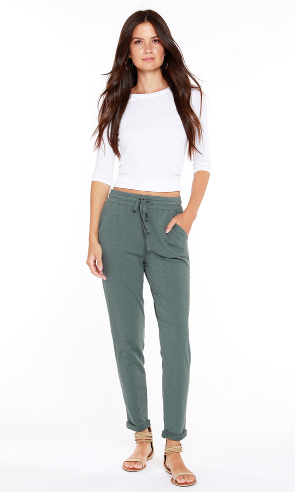 Evergreen Bobi Dark Sage Lounge Pant