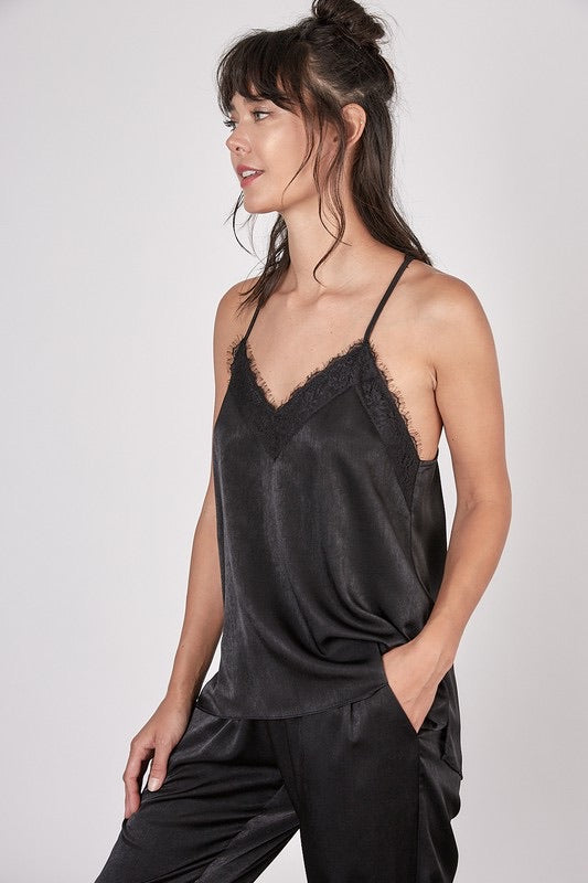 Midtown Satin Camisole