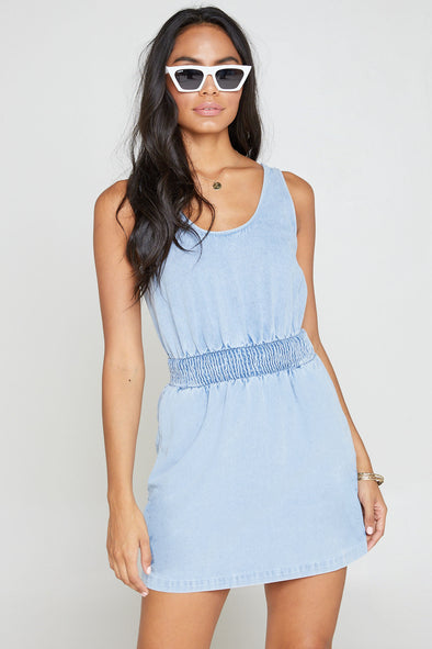 Dream Chaser Denim Tank Dress