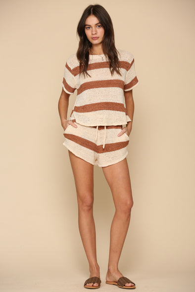 Summer Daze Striped Short Set